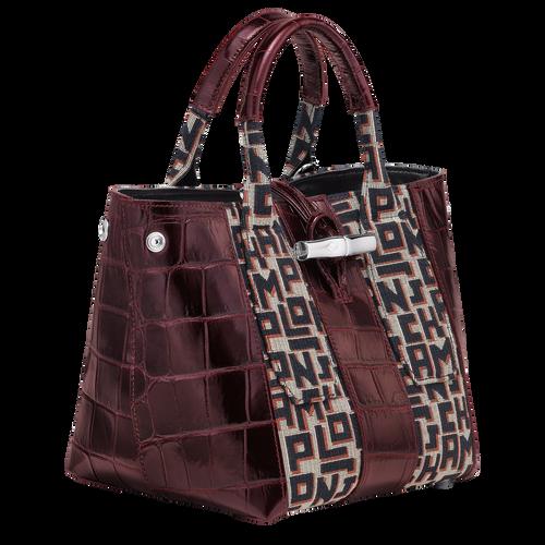 Top handle bag, Mahogany - View 3 of 4 -