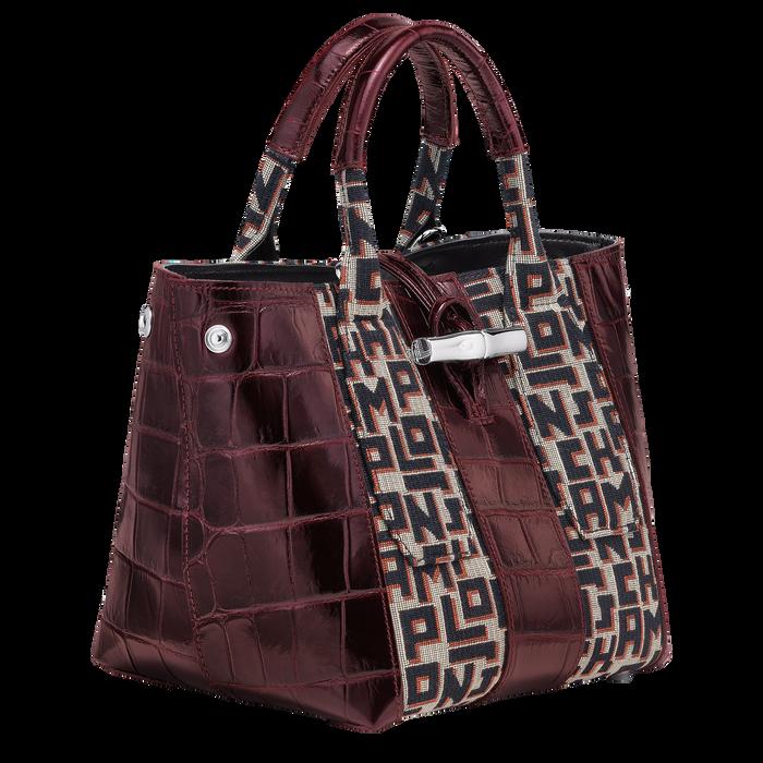 Top handle bag, Mahogany - View 3 of 4 - zoom in