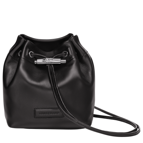 Mini bucket bag, Black, hi-res - View 1 of 3