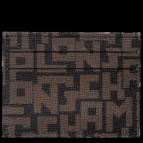 Card holder, Black/Khaki, hi-res - View 2 of 2