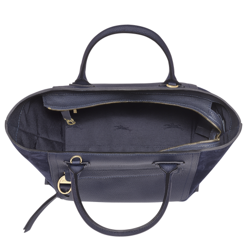 Top handle bag M, Navy - View 4 of  4.0 -