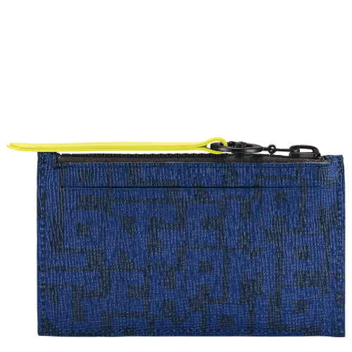 Coin purse, Black/Navy, hi-res - View 2 of 2