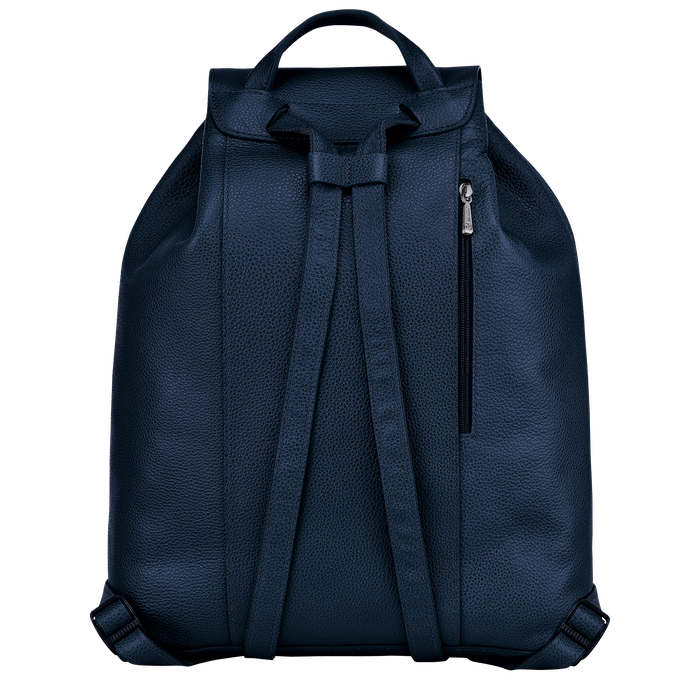 Le Foulonné Backpack, Navy