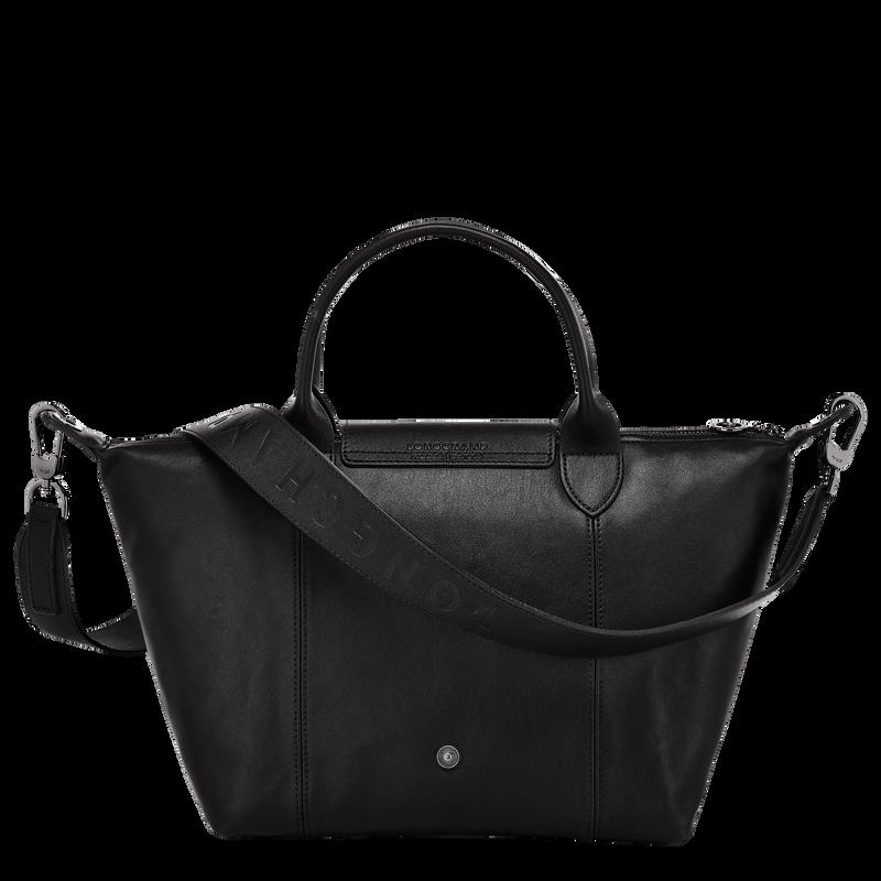 Top handle bag S, Black/Ebony - View 3 of  4 - zoom in