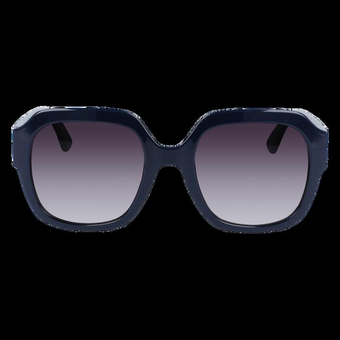 眼鏡 太陽眼鏡, 藍色
