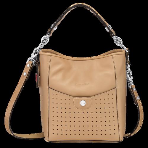 Sac porté épaule S Mademoiselle Longchamp Beige (10080883005) | Longchamp LU