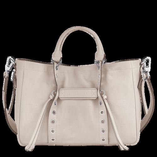 longchamp 3d sac porté travers blanc