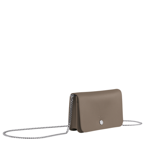 Wallet on chain, Taupe - View 2 of  3 -