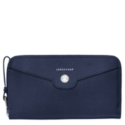 Zip around wallet, 006 Navy, hi-res