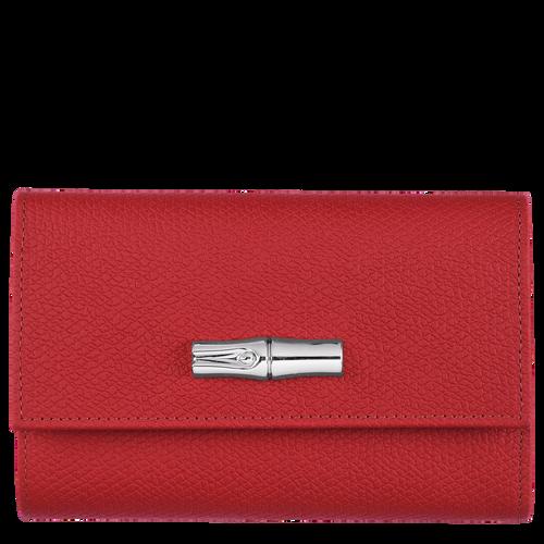 Portefeuille compact Roseau Rouge (L3253HPN545)   Longchamp FR
