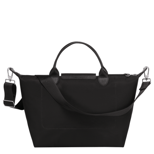 Top handle bag M, Black/Ebony - View 3 of  4 -