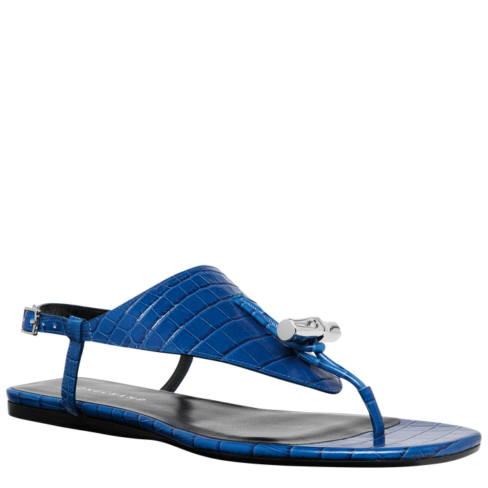 Spring-Summer 2021 Collection Flat sandals, Blue