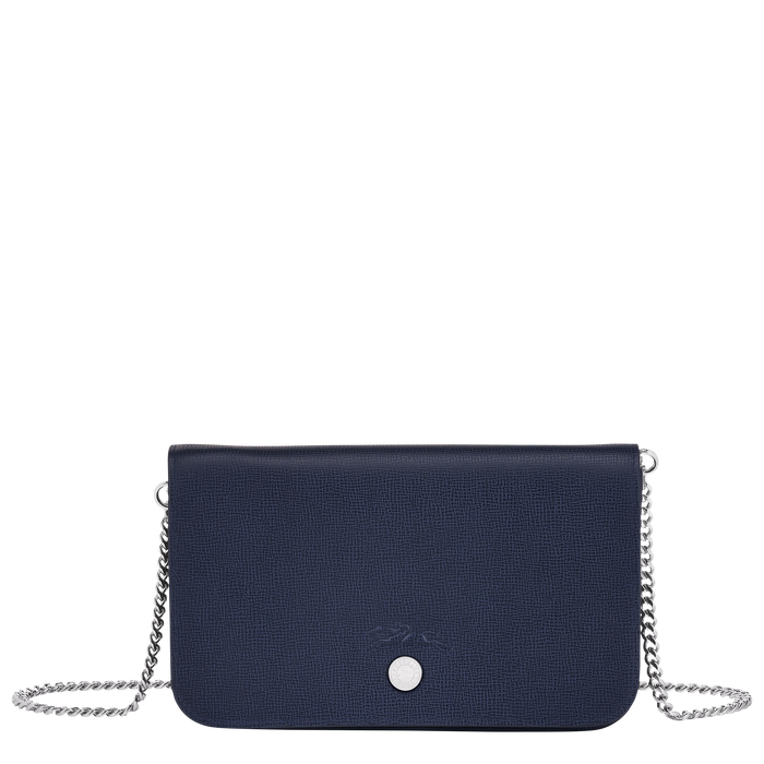 Wallet on chain, Navy - View 1 of  3 - zoom in