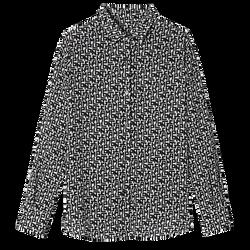 Chemise, 067 Noir/Blanc, hi-res
