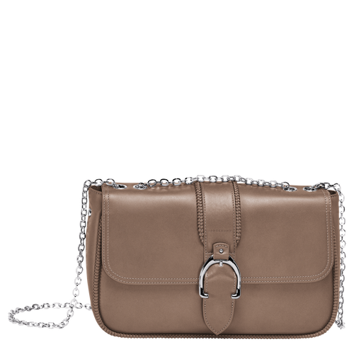 Shoulder Bag M, 015 Taupe, hi-res