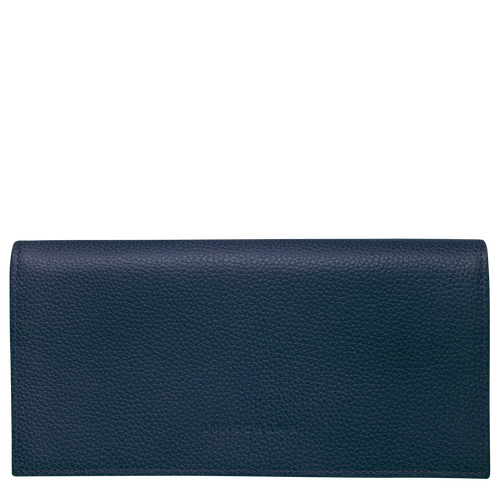 Long continental wallet, Navy - View 1 of  3 -