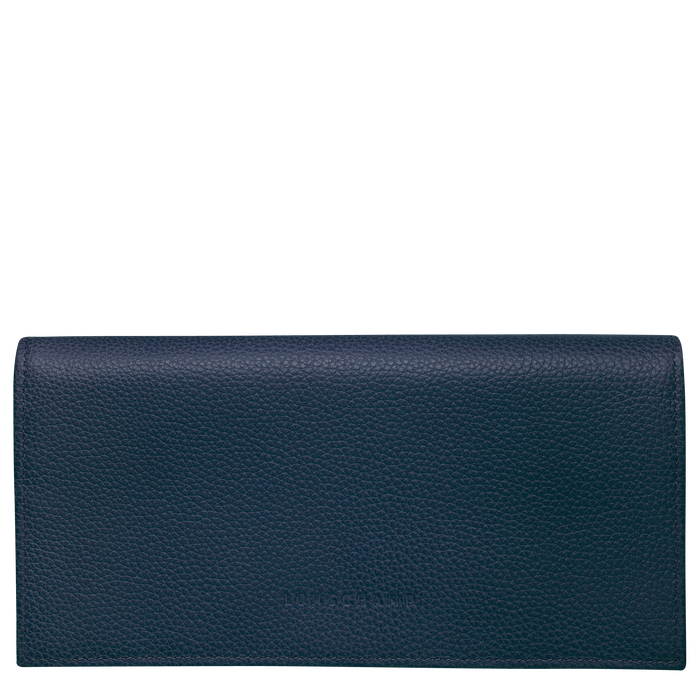 Long continental wallet, Navy - View 1 of  3 - zoom in