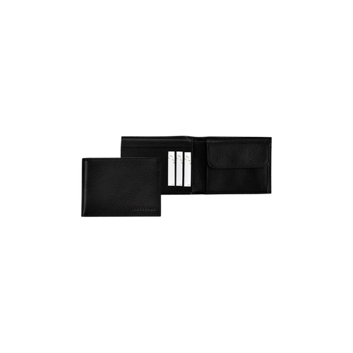 View 1 of Small wallet, 047 Black, hi-res