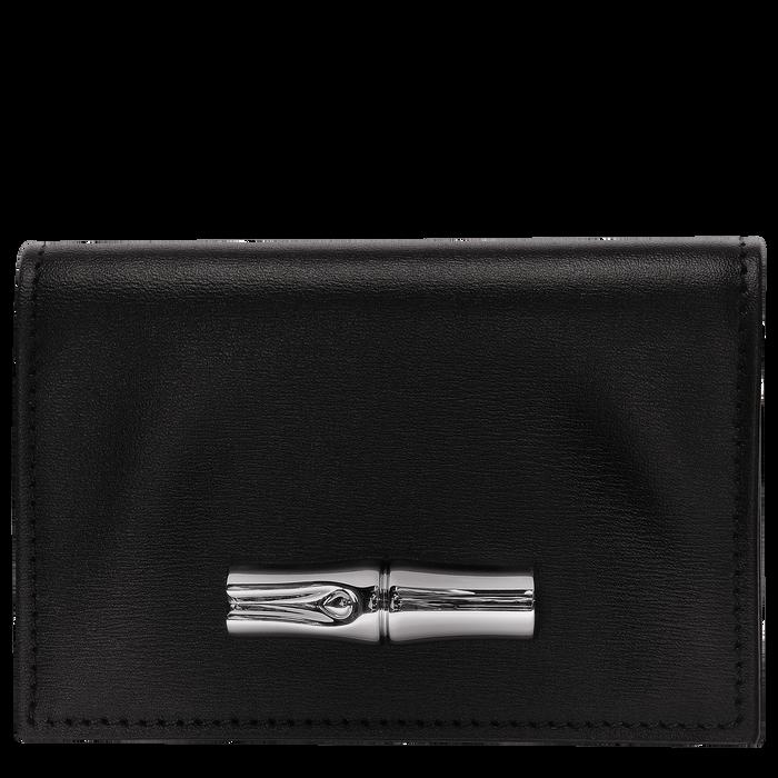 小型錢包, 黑色/烏黑色 - 查看 1 2 - 放大
