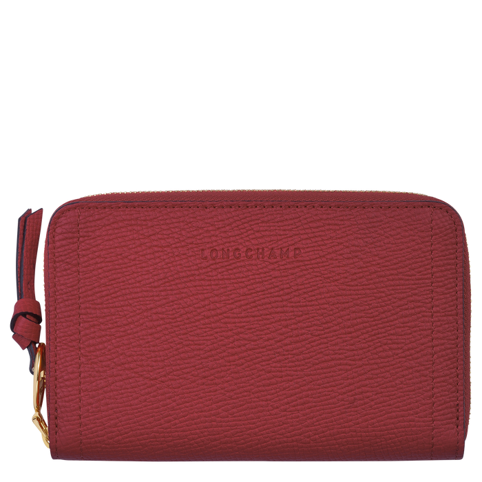 Mailbox Compact wallet, Red