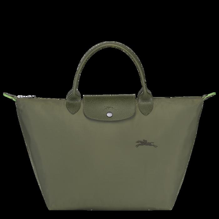 Le Pliage Green 手提包 M, 森林綠