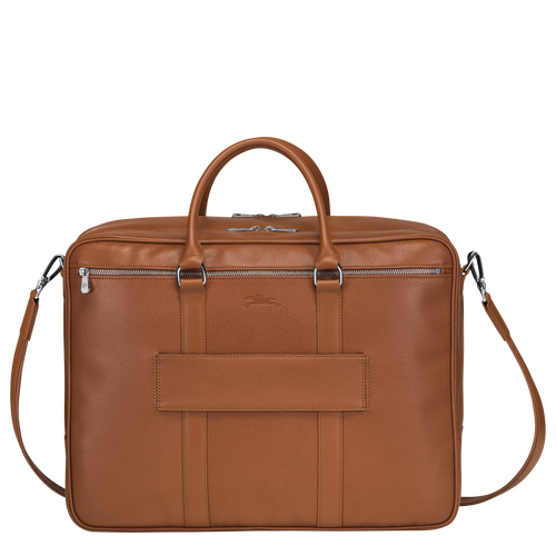Briefcase L, Caramel - View 3 of  3 -