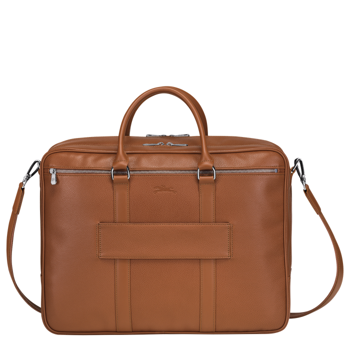 Briefcase L, Caramel - View 3 of  3 - zoom in