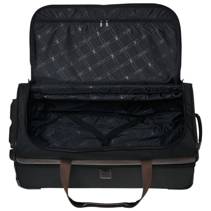 Wheeled duffle bag, Black, hi-res - View 3 of 3