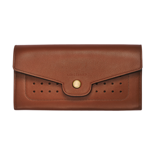 Long continental wallet, Cognac - View 2 of  3 -