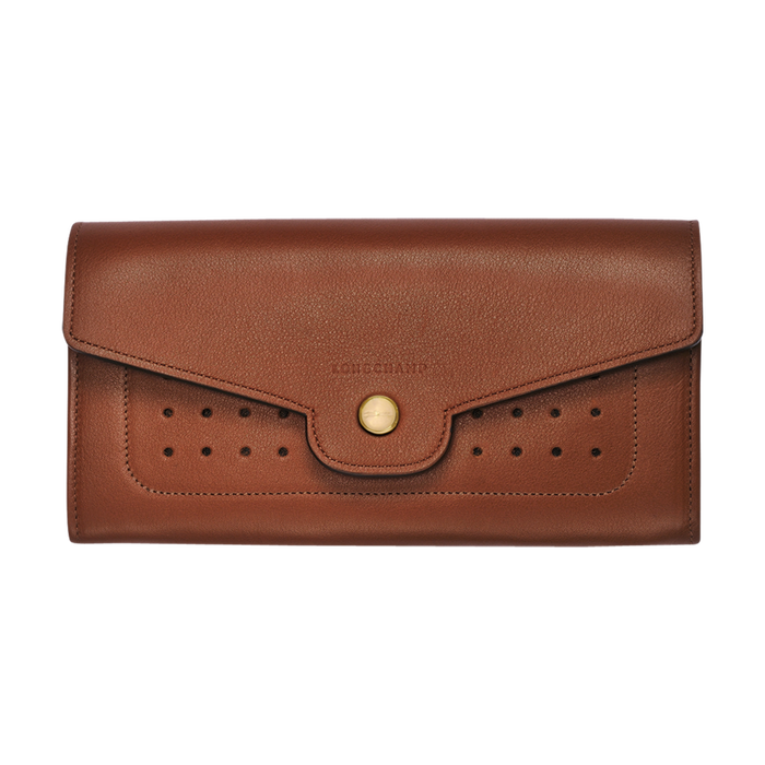 Long continental wallet, Cognac - View 2 of  3 - zoom in
