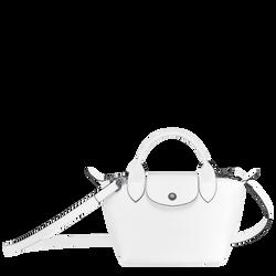 Top handle bag, White, hi-res