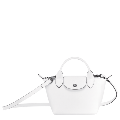 Top handle bag, White, hi-res