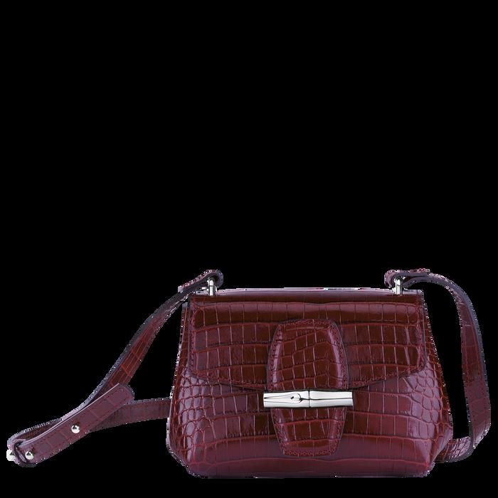 Roseau Crossbody bag XS, Burgundy