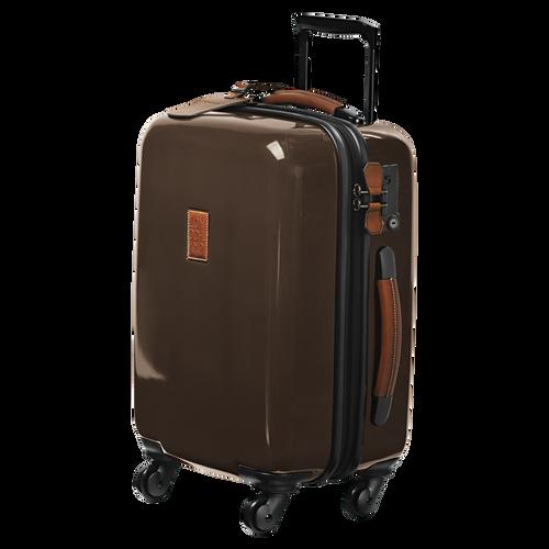 Koffer voor handbagage, Bruin - Weergave 2 van  3 -