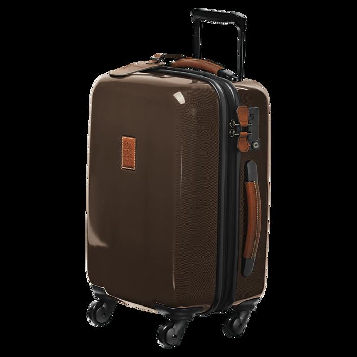 Koffer voor handbagage, Bruin - Weergave 2 van  3 - Meer inzoomen.