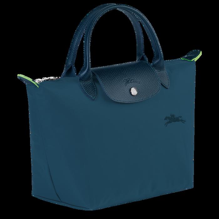 Le Pliage Green Handtasche S, Ozeanblau