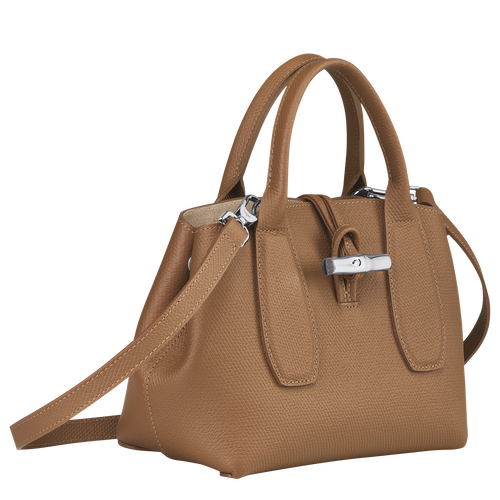 Top handle bag S, Natural - View 3 of 5 -