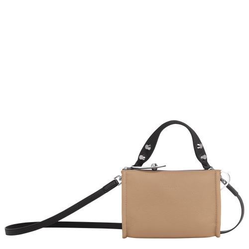 Crossbody bag, Natural/Black/White, hi-res - View 1 of 3