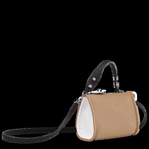 Crossbody bag, Natural/Black/White, hi-res - View 2 of 3