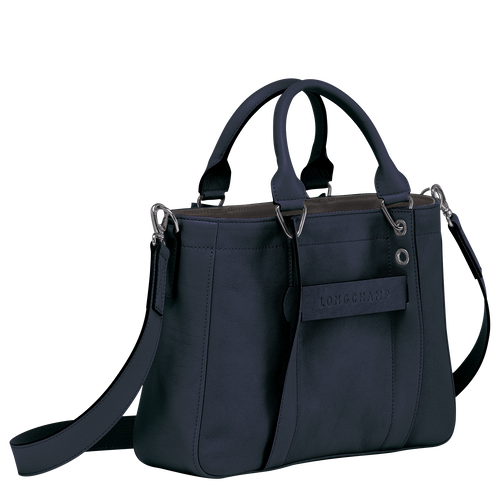 Top handle bag S, Midnight Blue - View 2 of  3.0 -