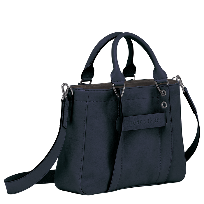 Top handle bag S, Midnight Blue - View 2 of  3.0 - zoom in