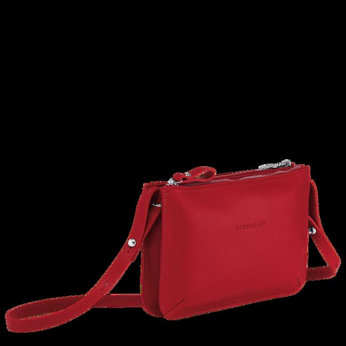 Sac porté travers Le Foulonné Rouge (L2072021545)   Longchamp FR