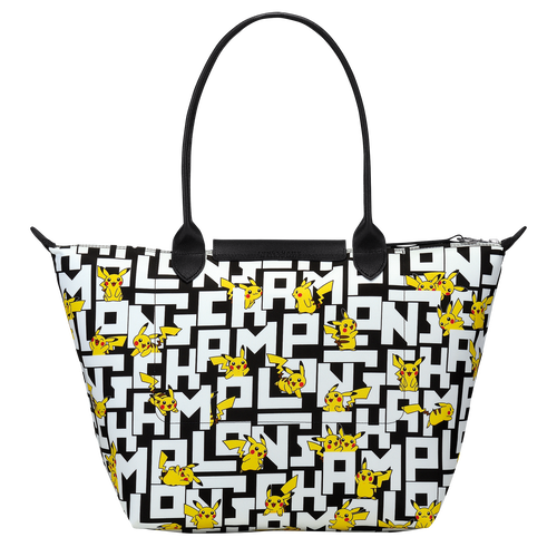 Shoulder bag L, Black/White - View 3 of  3 -