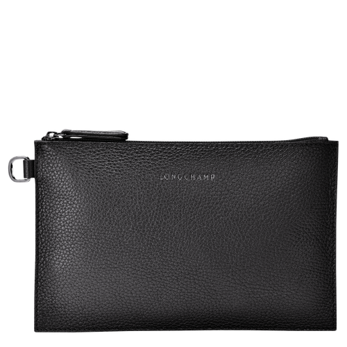 View 1 of Essential Pouch, Black, hi-res