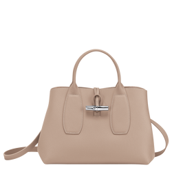 Top handle bag M, Sand, hi-res