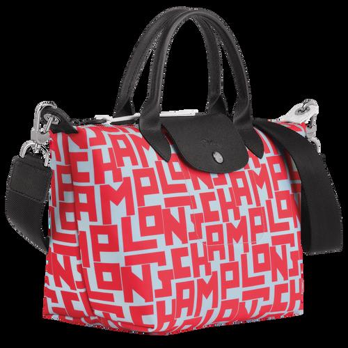 Le Pliage Collection Top handle bag S, Sage/Poppy