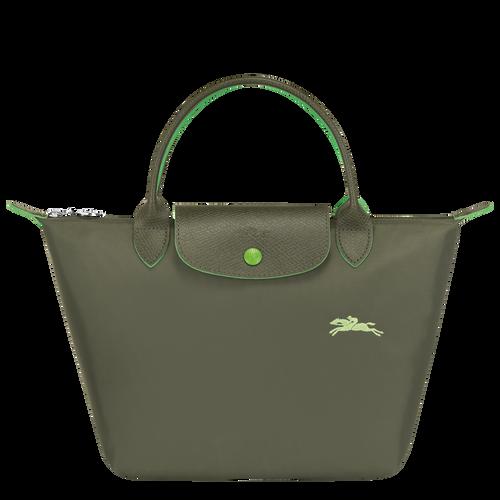 ル プリアージュ クラブ トップハンドルバッグ S, Longchamp Green