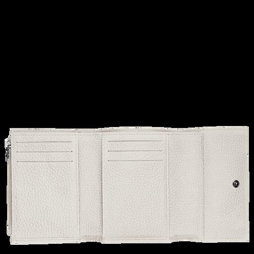 Portefeuille compact, Talc, hi-res - Vue 2 de 2