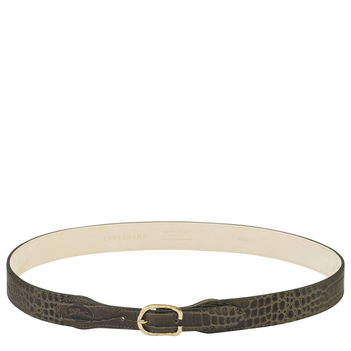 Fall-Winter 2021 Collection Ladies' belt, Khaki