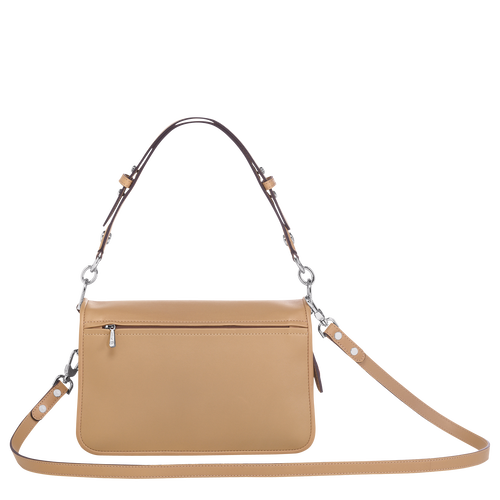 Crossbody bag S, Beige, hi-res - View 3 of 3
